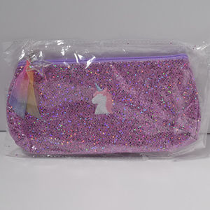 Bentoy Glitter Unicorn Pencil Case or Make Up Bag